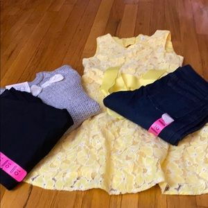 Bundle of girl clothes size 10T